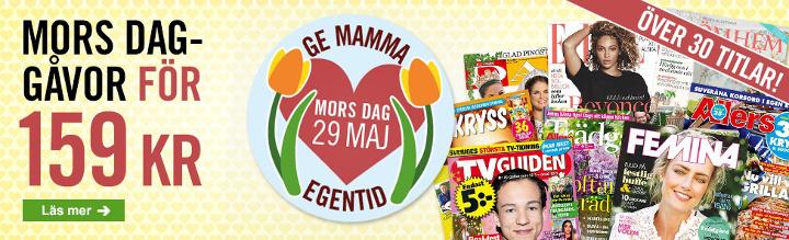 mors-dag tidningar som present